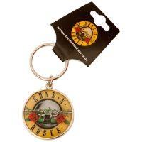 Guns N Roses - Schlüsselanhänger Bullet - mehrfarbig