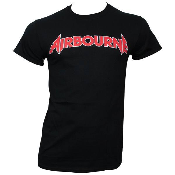 Airbourne - T-Shirt Logo - schwarz