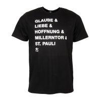 FC St. Pauli - T-Shirt GLH 2020 - schwarz