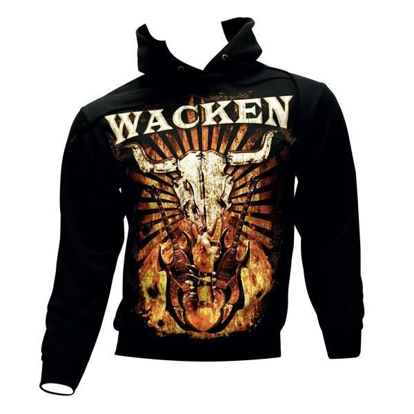 Wacken Open Air - Kapuzenpullover Fire - schwarz