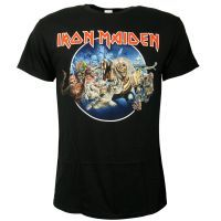 Iron Maiden - T-Shirt Wasted Years Circle - schwarz