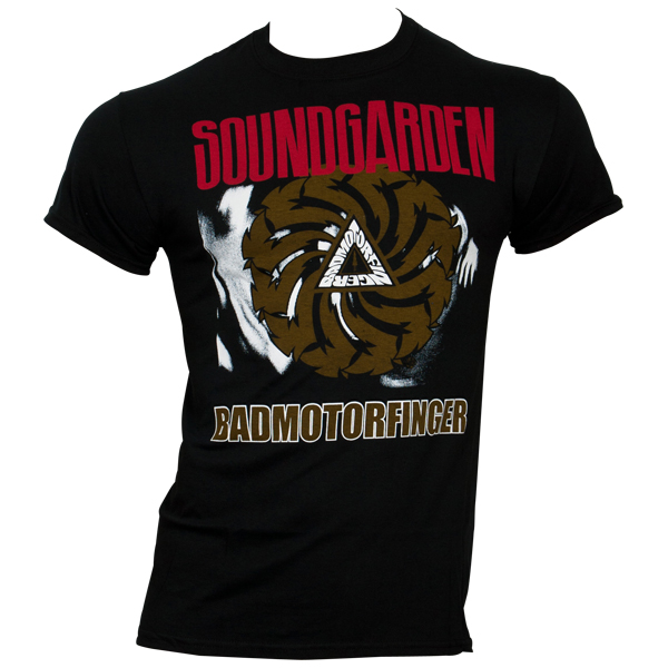 Soundgarden - T-Shirt Badmotorfinger - schwarz