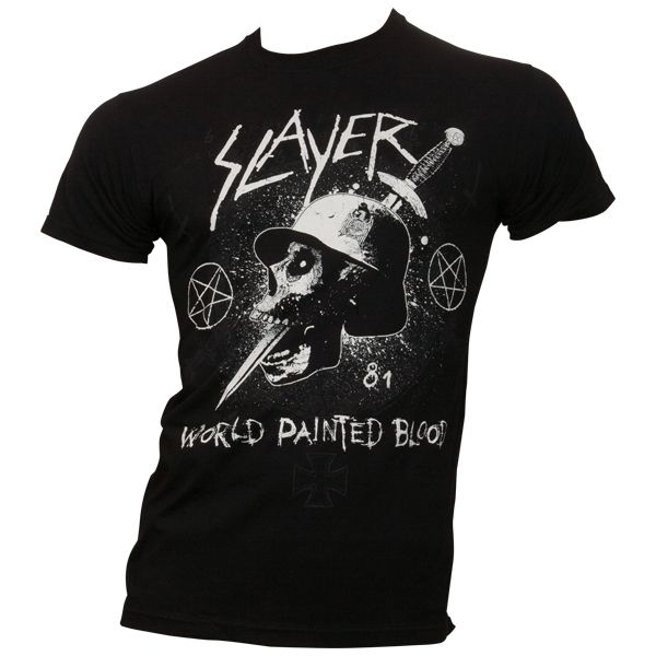 Slayer - T-Shirt Dagger Skull - schwarz