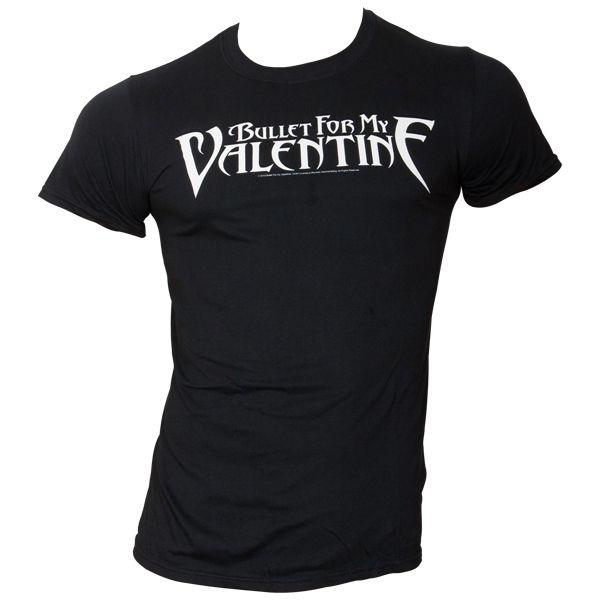 Bullet For My Valentine - T-Shirt Logo - schwarz