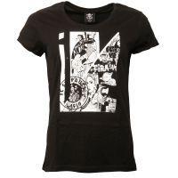 FC St. Pauli - Damen T-Shirt Art - schwarz