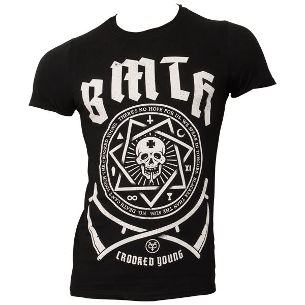 Bring Me The Horizon - T-Shirt Crooked - schwarz