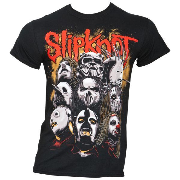 Slipknot - T-Shirt Maggots For Life - schwarz