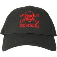 FC St. Pauli - Cap Black Red - schwarz