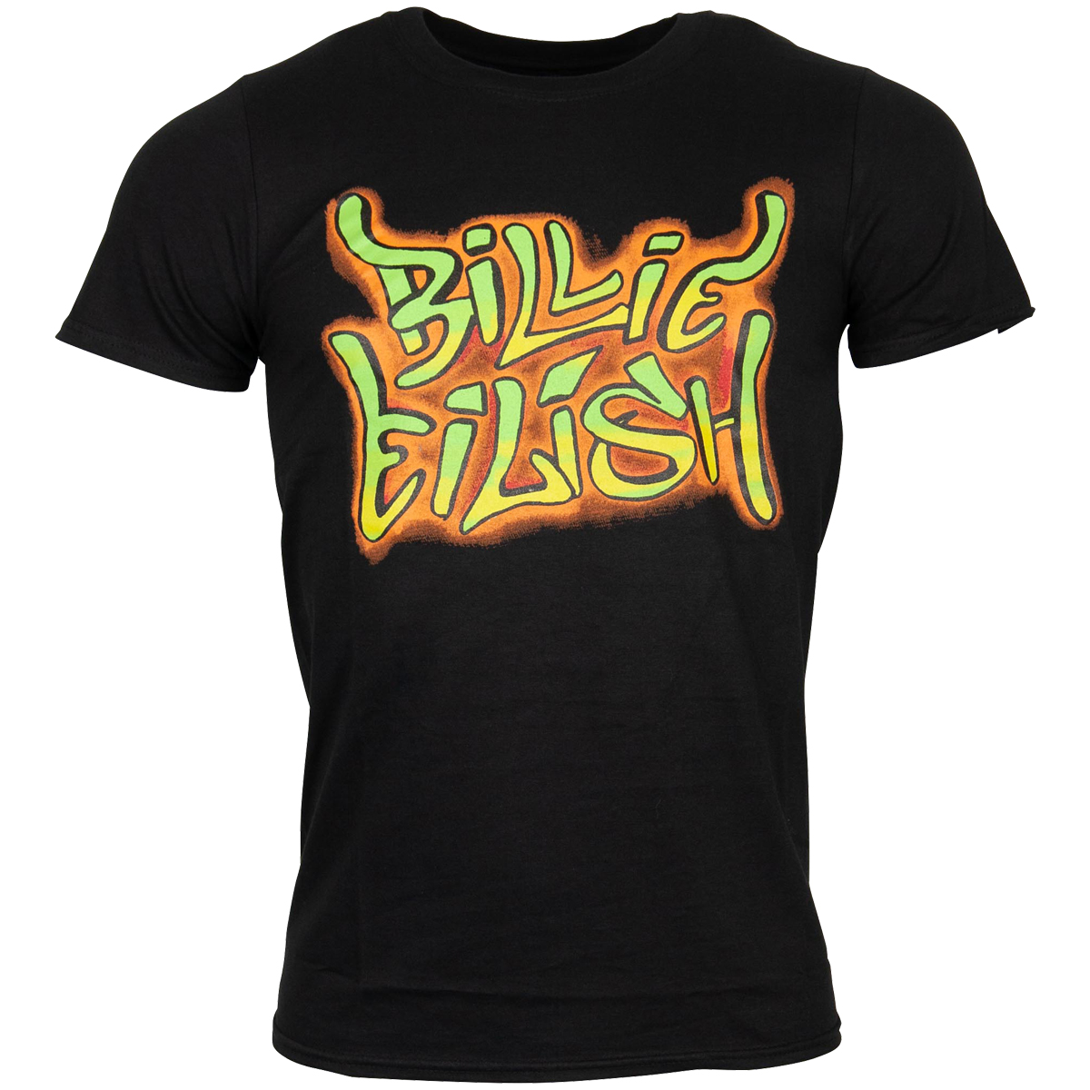 Billie Eilish - T-Shirt Graffiti - schwarz