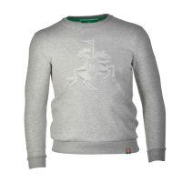 Holsten - Sweatshirt 3D Ritter - grau
