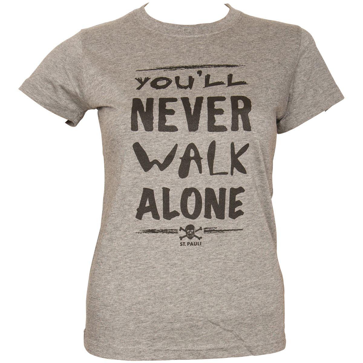 FC St. Pauli - Damen T-Shirt You´ll Never - grau