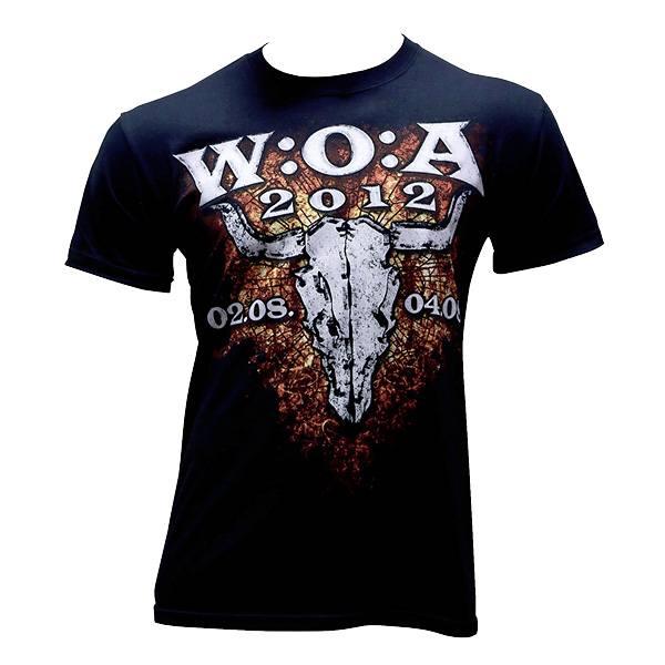 Wacken T-Shirt 2012 Logo - schwarz