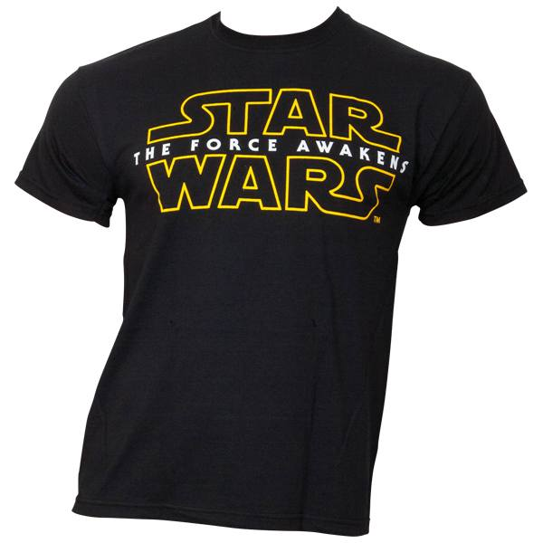 Star Wars - T-Shirt Star Wars VII - Logo - schwarz