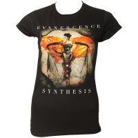 Evanescence - Damen T-Shirt Synthesis Album - schwarz
