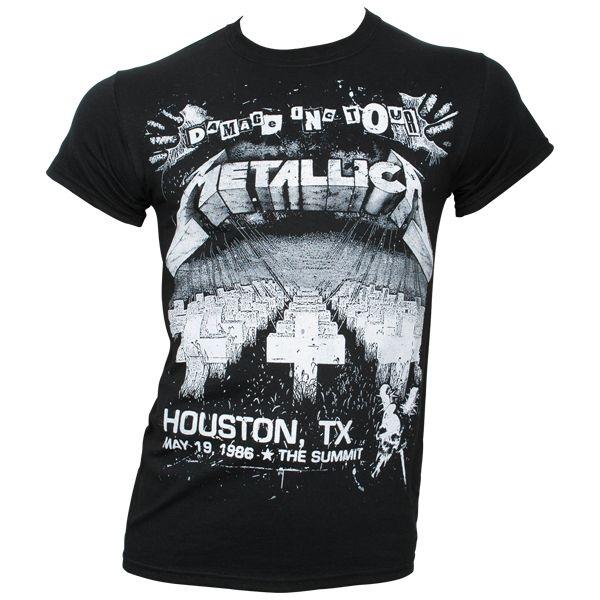 Metallica - T- Shirt Damage Live - schwarz