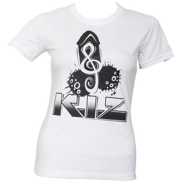 K.I.Z. - Girly T-Shirt Puller - weiß