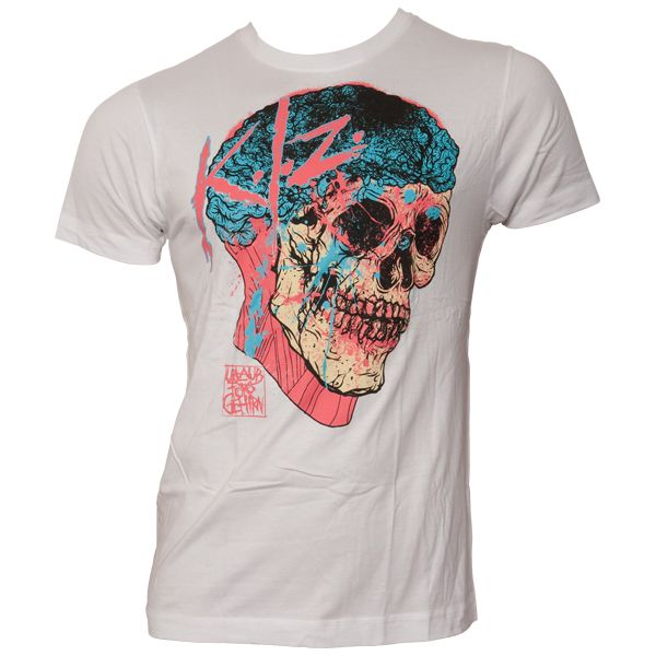 K.I.Z - T-Shirt Urlaub für's Gehirn - weiß