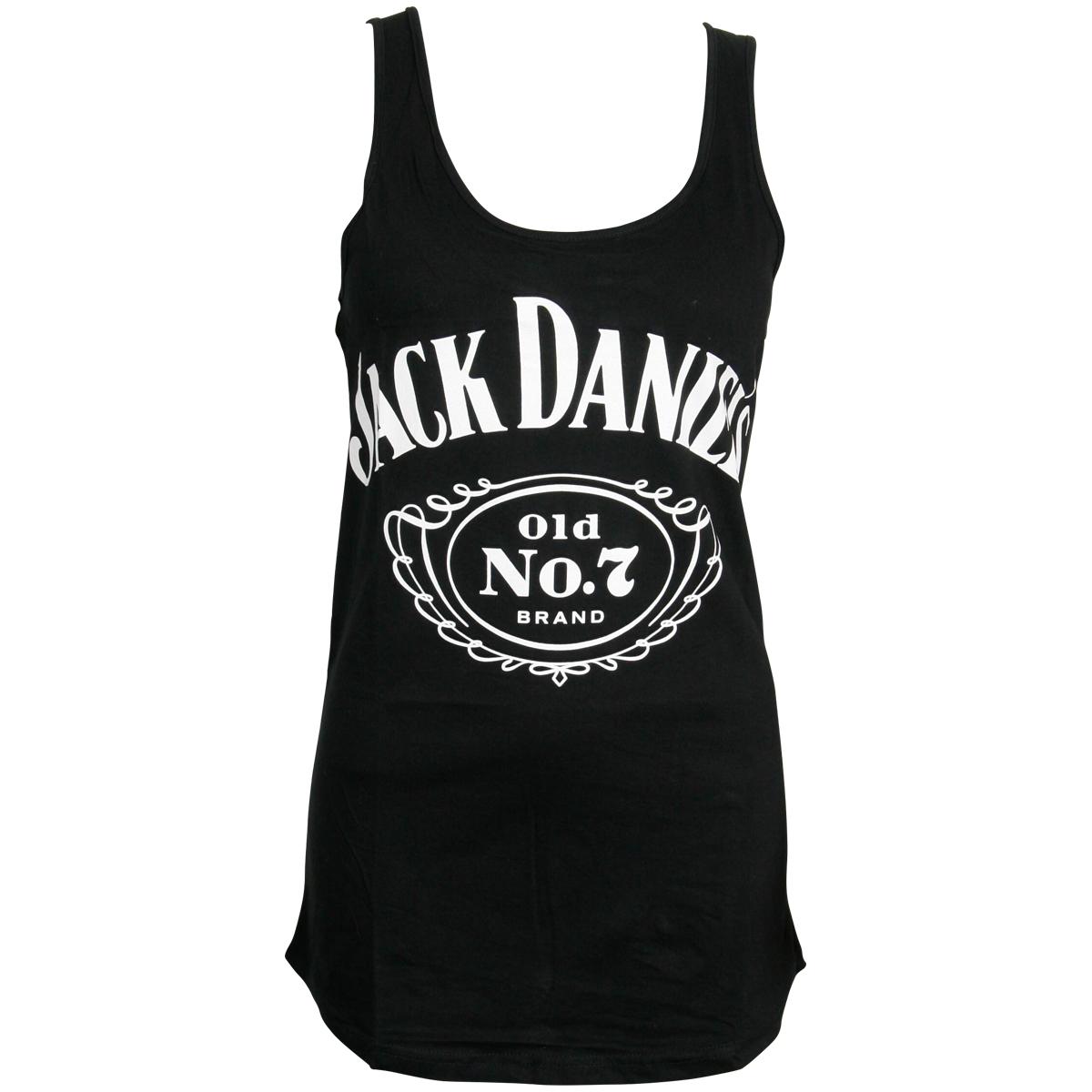 Jack Daniels - Damen Tank Top Logo - schwarz