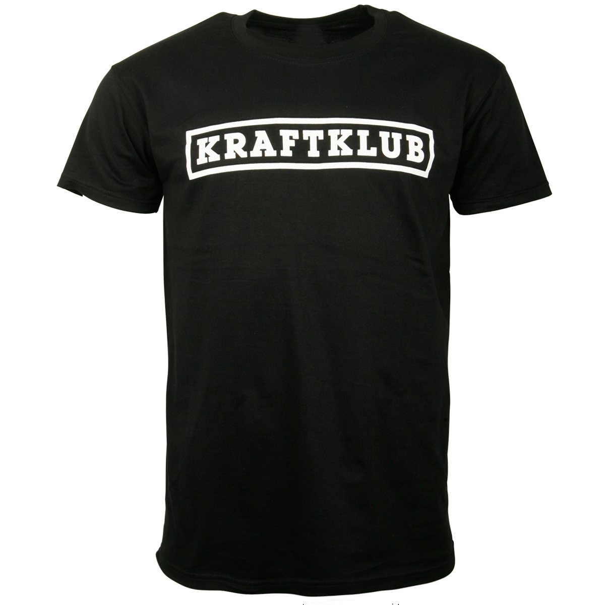 Kraftklub - T-Shirt Schriftzug - schwarz