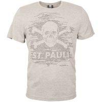 FC St. Pauli - T-Shirt TK Freude Grau-Schwarz