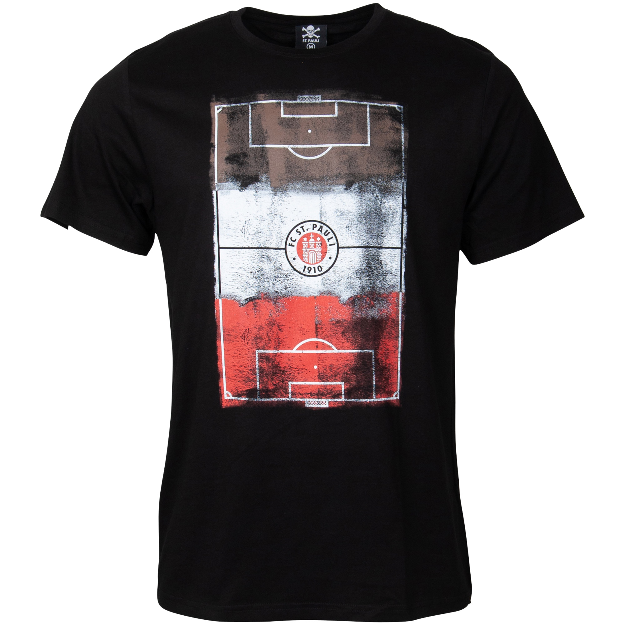 FC St. Pauli - T-Shirt Millerntor Logo - schwarz