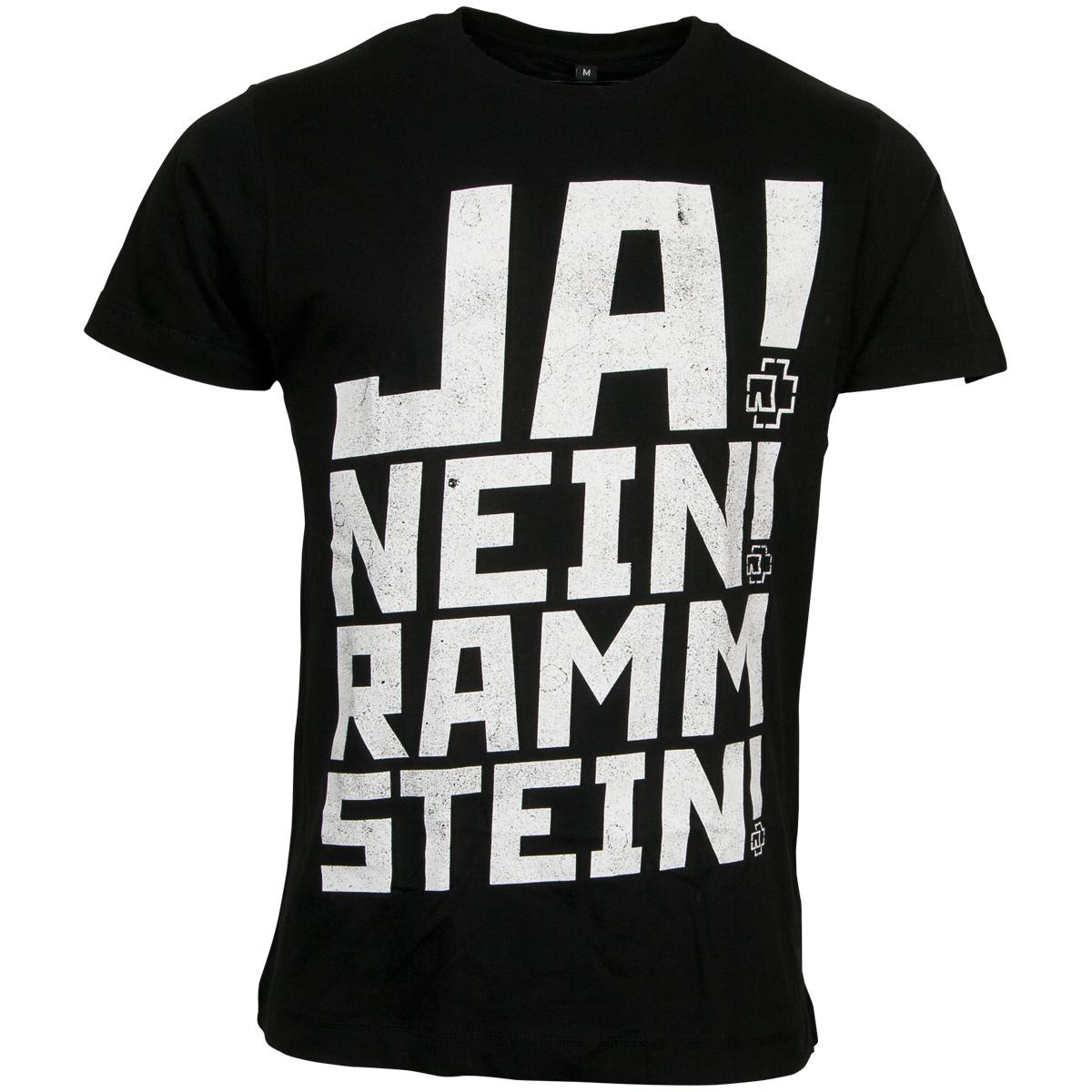 Rammstein - Ramm 4 T-Shirt - schwarz