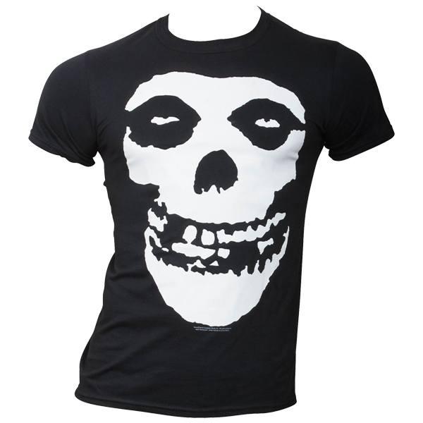 Misfits - T-Shirt Skull - schwarz