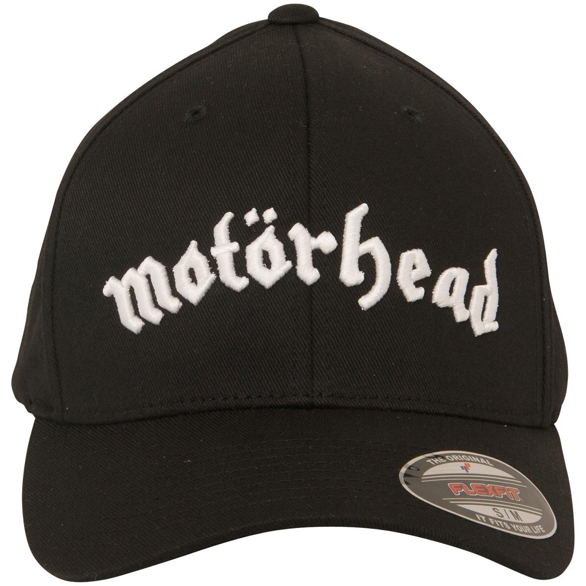 Motörhead - Flexfit Cap Bandlogo - schwarz