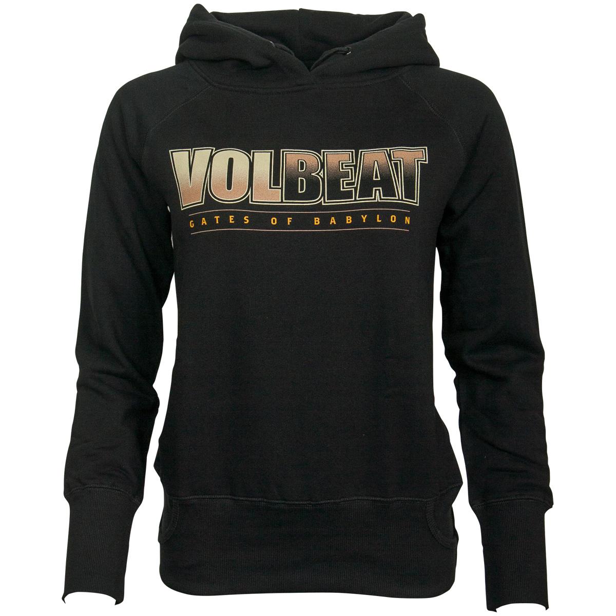 Volbeat - Damen Kapuzenpullover Babylon Goddess - schwarz