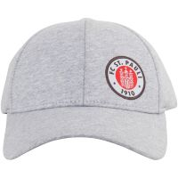 FC St. Pauli - Kappe Club mit Logo - grau
