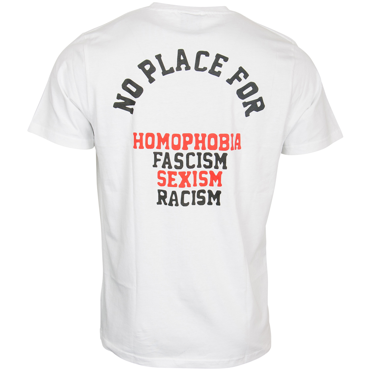 FC St. Pauli - T-Shirt No Place For - weiß