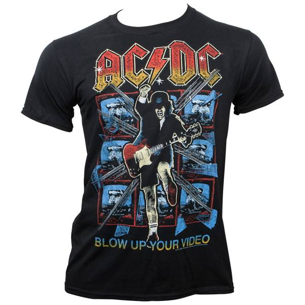 AC/DC - T-Shirt Blow Up Your Video - schwarz
