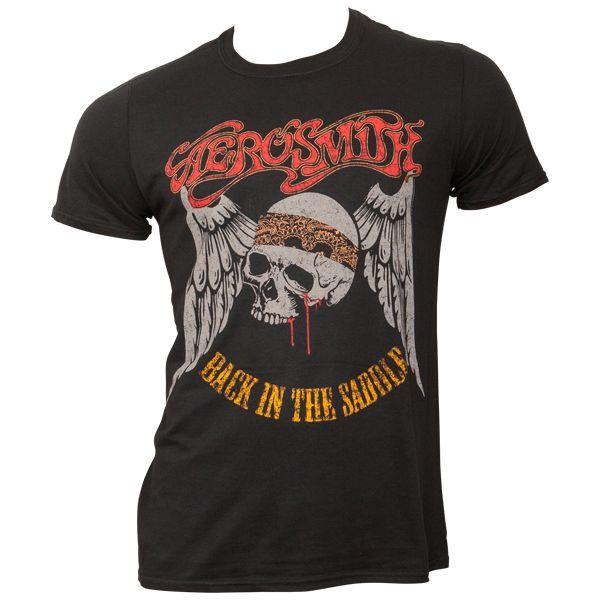 Aerosmith - T-Shirt Back In The Saddle - schwarz