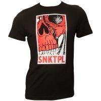 FC St. Pauli - T-Shirt Totenkopf SNKTPL - schwarz