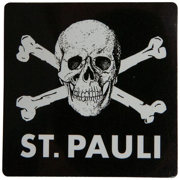 a984ba70c87 FC St. Pauli - Magnet - Skull