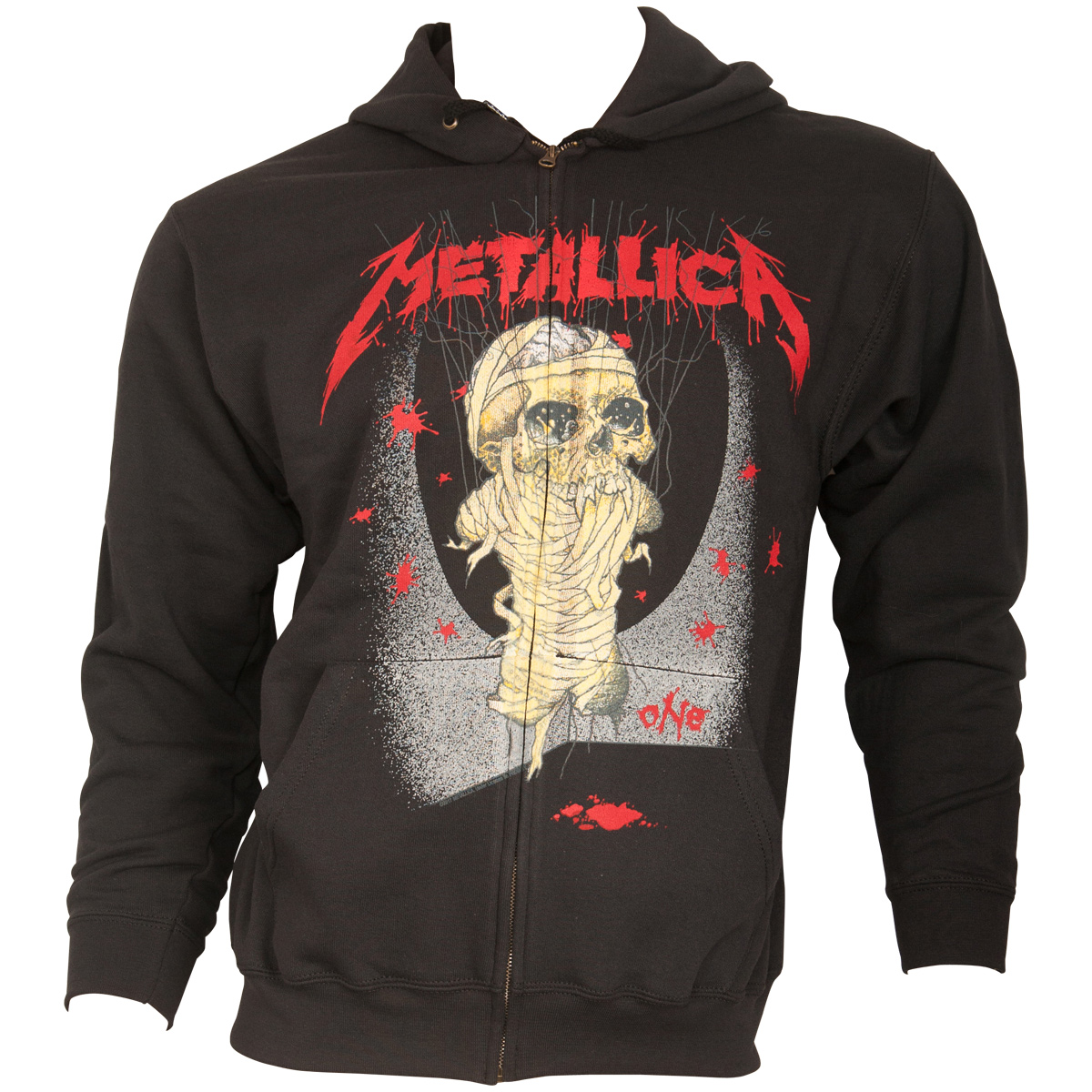 Metallica - Kapuzenjacke One Landmine - schwarz