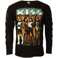 Kiss - Longsleeve Love Gun Chrome - schwarz