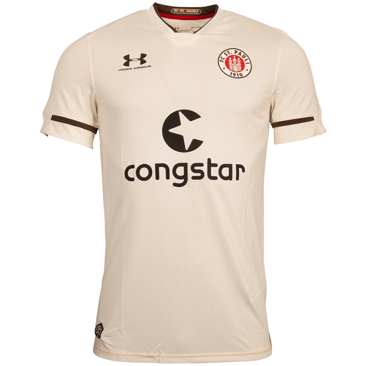 FC St. Pauli - Auswärtstrikot 2020-21 - beige