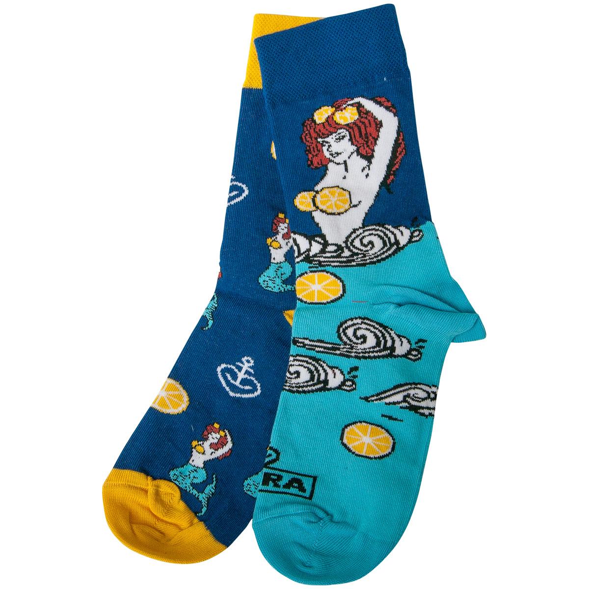 Astra - Socken Kiezmische - blau