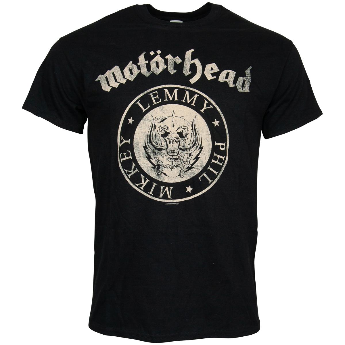 Motörhead - T-Shirt Undercover Seal Newsprint - schwarz