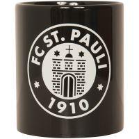 FC St. Pauli - Kaffeebecher Logo Phosphor - schwarz