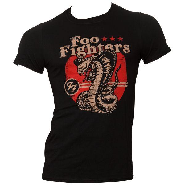 Foo Fighters - T-Shirt Cobra - beige
