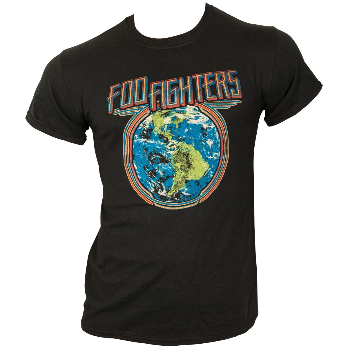 Foo Fighters - T-Shirt Globe - schwarz