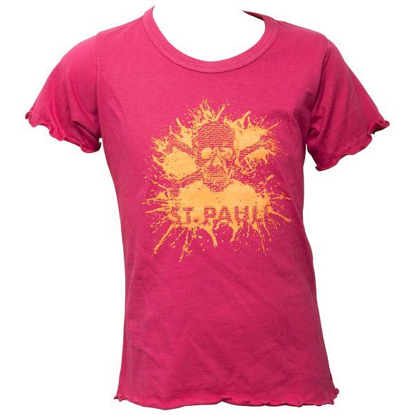FC St. Pauli Mädchen Kinder T-Shirt Splash TK Pink-Apricot