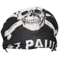 FC St. Pauli - Funktionstuch Totenkopf groß - schwarz