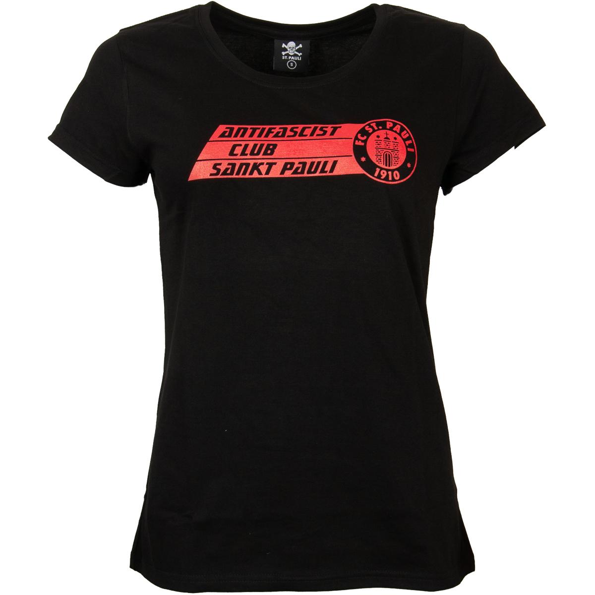 FC St. Pauli - Damen T-Shirt AFC - schwarz