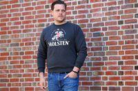 Holsten - Sweatshirt Ritter gross - anthrazit