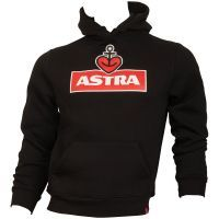 Astra - Kapuzenpullover Logo - unisex - schwarz
