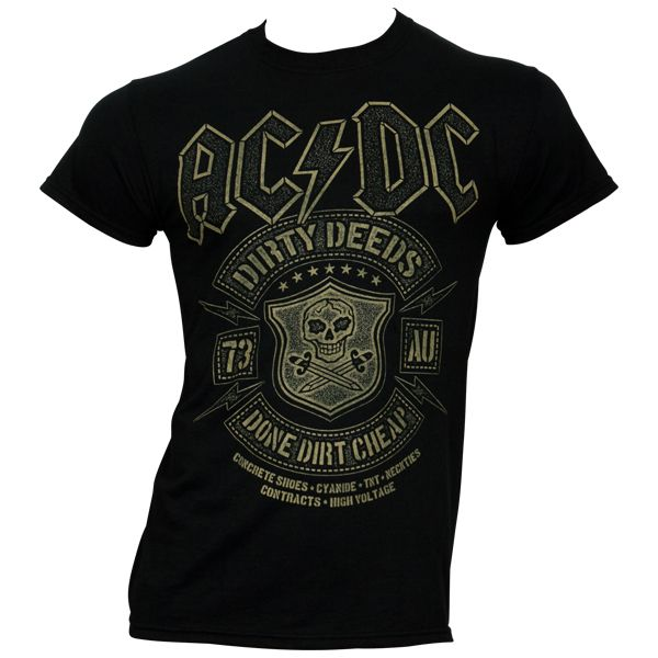AC/DC - Black Done Cheap - schwarz