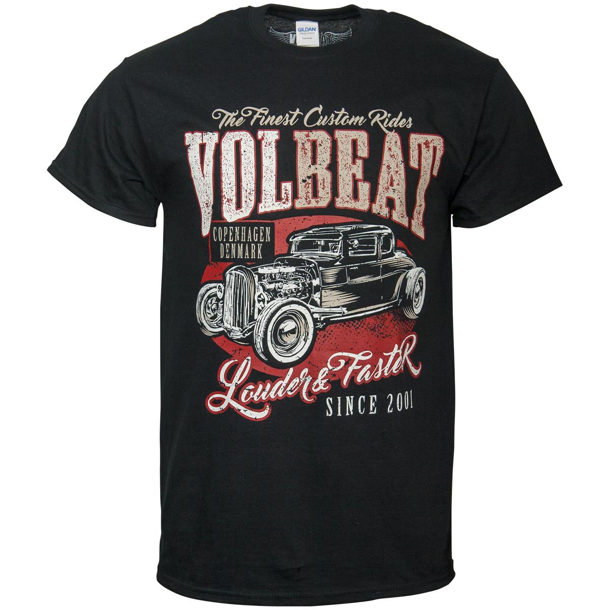 Volbeat - T-Shirt Louder & Faster - schwarz